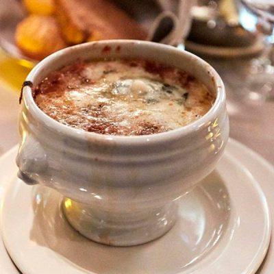 Sopa de Cebolla y Roquefort